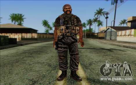 Soldiers from the Rogue Warrior 3 for GTA San Andreas