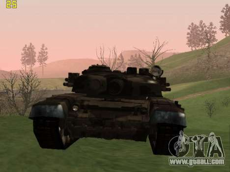 T-72 for GTA San Andreas left view
