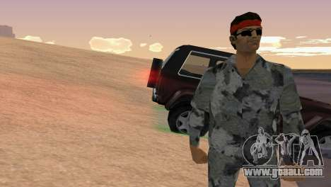 Camo Skin 18 for GTA Vice City third screenshot