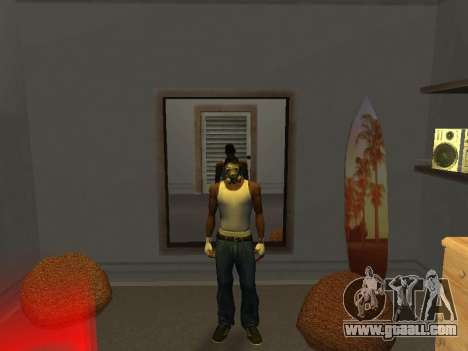 Mask from a Stalker for GTA San Andreas second screenshot
