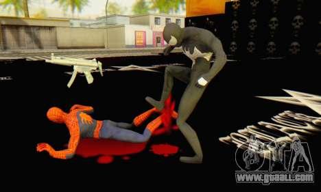 Skin The Amazing Spider Man 2 - Molecula Estable for GTA San Andreas sixth screenshot