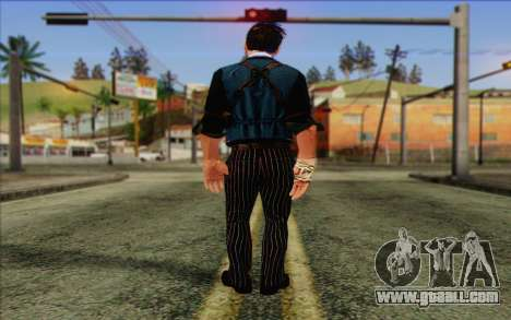 Booker DeWitt Skin for GTA San Andreas second screenshot