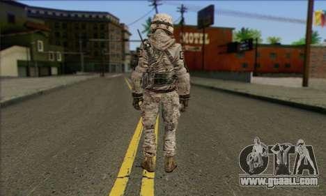 Task Force 141 (CoD: MW 2) Skin 5 for GTA San Andreas second screenshot