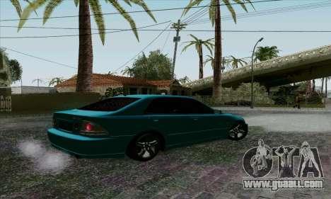 Toyota Altezza for GTA San Andreas right view
