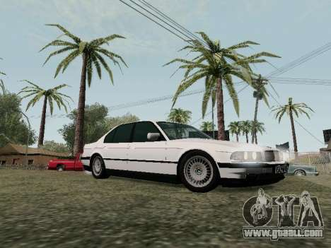 BMW 760i E38 for GTA San Andreas side view