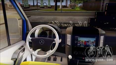 Mercedes-Benz Sprinter Dolmus for GTA San Andreas right view