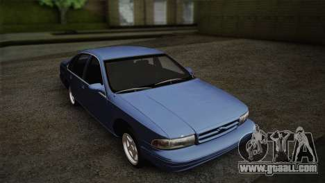 Chevrolet Impala 1996 for GTA San Andreas back left view