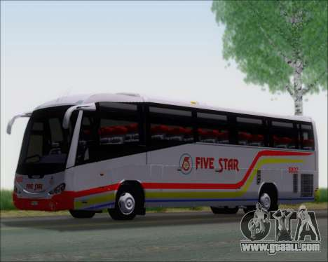 Irizar MQ2547 Five Star 8802 for GTA San Andreas back left view