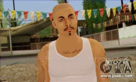 Vagos from GTA 5 Skin 2 for GTA San Andreas third screenshot