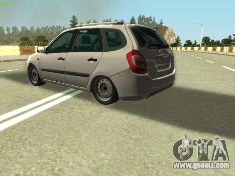 Lada Kalina 2 Wagon for GTA San Andreas side view