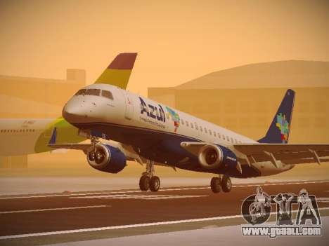 Embraer E190 Azul Brazilian Airlines for GTA San Andreas