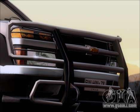 Chevrolet Colorado for GTA San Andreas wheels