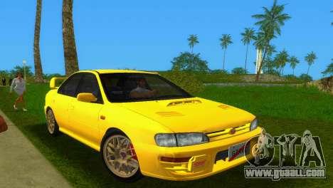 Subaru Impreza WRX STI GC8 Sedan Type 1 for GTA Vice City