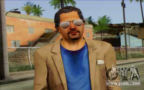 Willis Huntley from Far Cry 3 for GTA San Andreas third screenshot