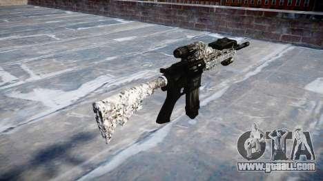 Automatic rifle Colt M4A1 diamond for GTA 4 second screenshot
