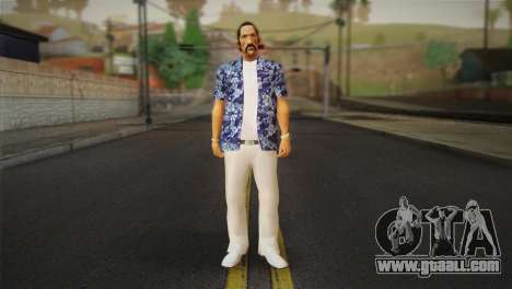 Vice City Style Ped for GTA San Andreas