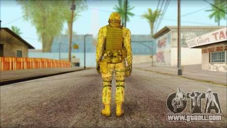 USA Soldier v2 for GTA San Andreas second screenshot