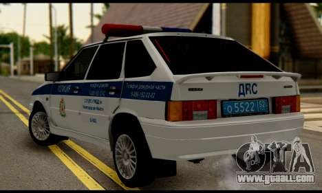 VAZ 2114 DPS for GTA San Andreas left view