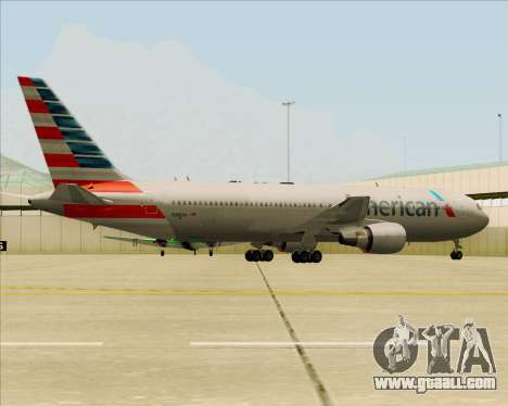 Boeing 767-323ER American Airlines for GTA San Andreas engine