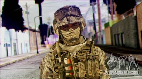 Ranger (CoD: MW2) v1 for GTA San Andreas third screenshot