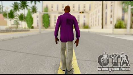 Purple Shirt Vic for GTA San Andreas second screenshot