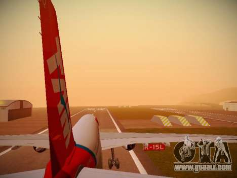 Airbus A330-200 TAM Airlines for GTA San Andreas engine