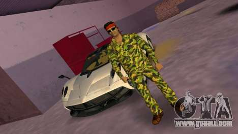 Camo Skin 07 for GTA Vice City second screenshot