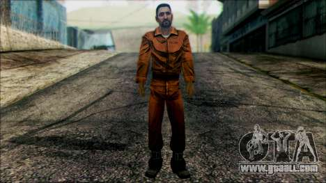 Danny from The Walking Dead: 400 Days for GTA San Andreas
