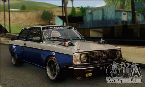 Volvo 242 V6 Twin Turbo 1983 - Stock for GTA San Andreas