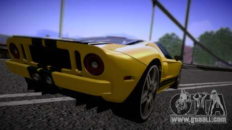 Ford GT 2005 Road version for GTA San Andreas right view
