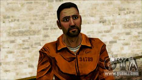 Danny from The Walking Dead: 400 Days for GTA San Andreas third screenshot