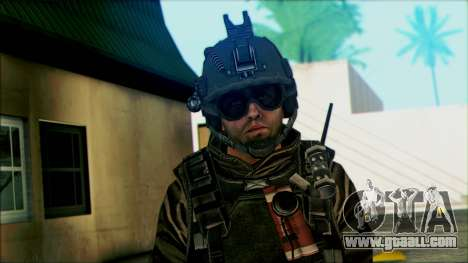 Soldiers airborne (CoD: MW2) v5 for GTA San Andreas third screenshot