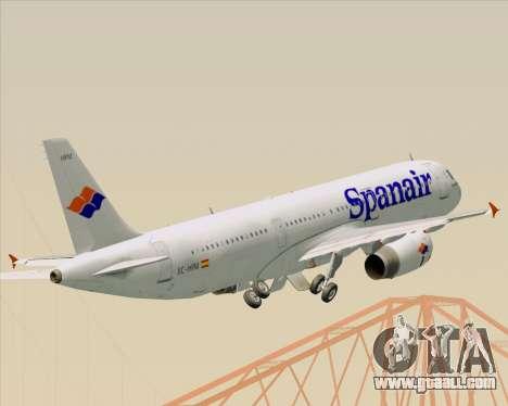 Airbus A321-231 Spanair for GTA San Andreas