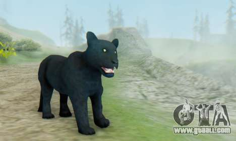 Black Panther (Mammal) for GTA San Andreas