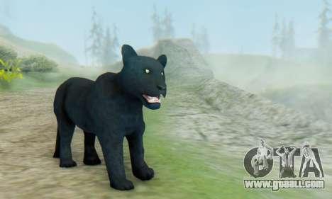 Black Panther (Mammal) for GTA San Andreas