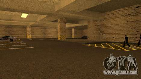 New textures Parking in the LSPD for GTA San Andreas forth screenshot