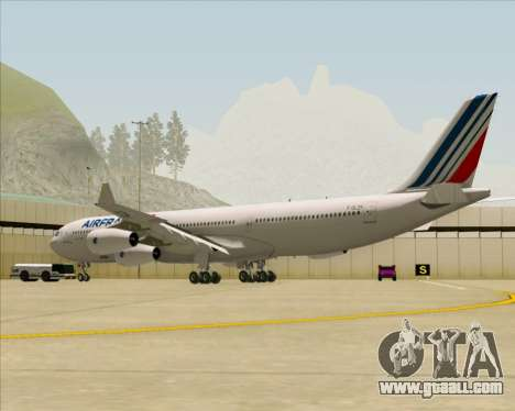 Airbus A340-313 Air France (New Livery) for GTA San Andreas right view