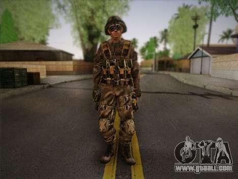 Боец СВР (Tom Clancy Splinter Cell) v2 for GTA San Andreas