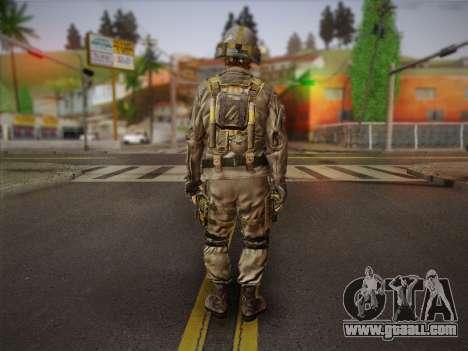 Боец СВР (Tom Clancy Splinter Cell) v2 for GTA San Andreas second screenshot