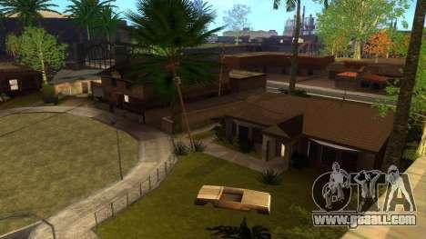 New HD textures houses on grove street v2 for GTA San Andreas twelth screenshot