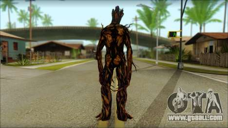 Guardians of the Galaxy Groot v2 for GTA San Andreas second screenshot