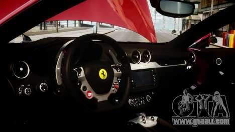 Ferrari FF 2011 v1.5 for GTA 4 back view