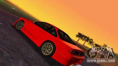 Nissan Silvia S14 RB26DETT Black Revel for GTA Vice City back left view