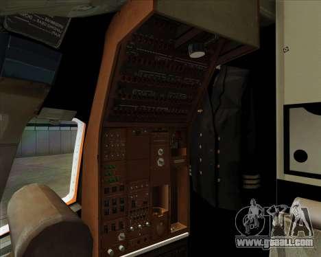 Boeing 767-300ER Australian Airlines for GTA San Andreas engine