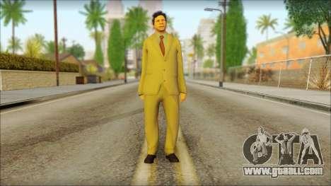 GTA 5 Ped 5 for GTA San Andreas