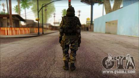 Soldiers of the EU (AVA) v1 for GTA San Andreas second screenshot