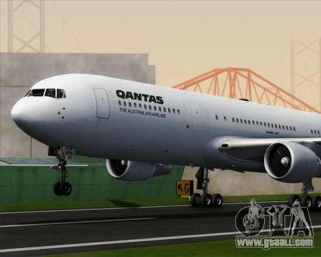 Boeing 767-300ER Qantas for GTA San Andreas engine