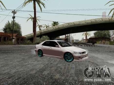 Toyota Altezza Addinol for GTA San Andreas
