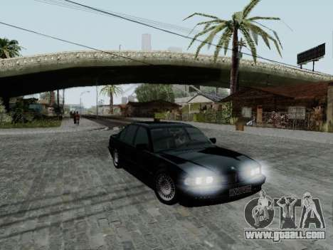 BMW 760i E38 for GTA San Andreas left view