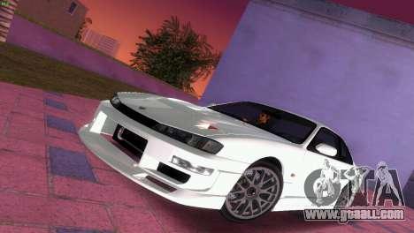 Nissan Silvia S14 RB26DETT Black Revel for GTA Vice City bottom view
